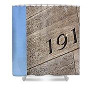 1914 Shower Curtain