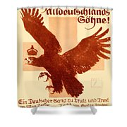 1916 - Lugwig Hohlwein German Musical Poster Shower Curtain