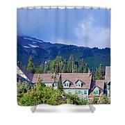 1916 Paradise Inn. Mount Rainier National Park Shower Curtain