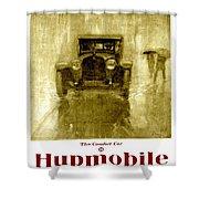 1918 - Hupmobile Automobile Advertisement - Color Shower Curtain