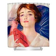 1919 - Land Of My Dreams By Anita Owen Sheet Music - Color Shower Curtain