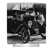 1920 Dodge Convertable Shower Curtain