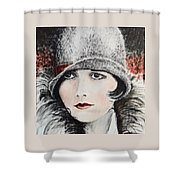 Louise Brooks Shower Curtain