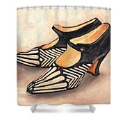 Deco Darlings Shower Curtain