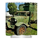 1920s Ford Moving Truck Shower Curtain