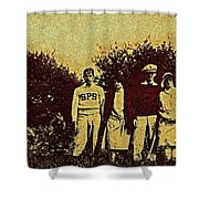 1920s Golf Shower Curtain