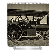 1921 Aultman Taylor Tractor Shower Curtain