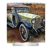 1921 Hudson-featured In Vehicle Enthusiasts And Comfortable Art And Photography And Textures Groups Shower Curtain