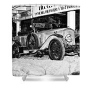 1921 Vauxhall 30/98e Shower Curtain