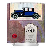 1922 - Cole 890 - Advertisement - Color Shower Curtain