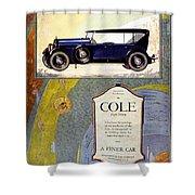 1923 - Cole 890 - Advertisement - Color Shower Curtain