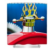 1923 Ford T-bucket Aftermarket Hood Ornament Shower Curtain