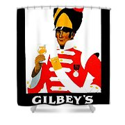 1924 - Gilbey Spey-royal Whisky Advertisement - Color Shower Curtain
