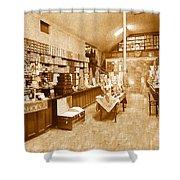 1925 Irish Shoe Store Shower Curtain
