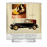 1926 - Packard Automobile Advertisement - Color Shower Curtain