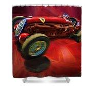 1926 Delage Grand Prix Car  Alfa-romeo  Shower Curtain