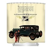 1927 - Buick Automobile - Color Shower Curtain