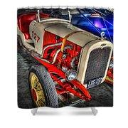 1927 Chevy Dirt Racer Shower Curtain