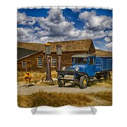 1927 Dodge Braham Bodie Ca Color Img 7299 Shower Curtain