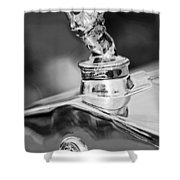 1927 Franklin Sedan Hood Ornament 2 Shower Curtain