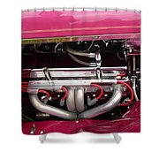 Antique Car Engine Shower Curtain