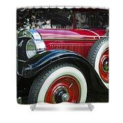 1928 Hupmobile Century Model E4 4 Door Sedan Shower Curtain