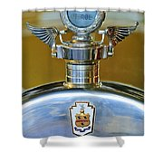 1928 Pierce-arrow Hood Ornament Shower Curtain