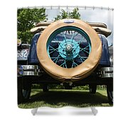 1929 Model-a Roadster 3 Shower Curtain