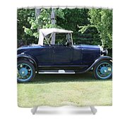 1929 Model-a Roadster 4 Shower Curtain