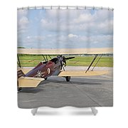 1929 New Standard D-25 Shower Curtain