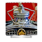 1929 Packard 8 Hood Ornament 2 Shower Curtain