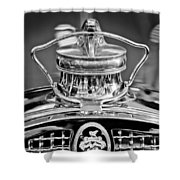 1929 Packard 8 Hood Ornament 4 Shower Curtain