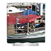 1929 Water Taxi Shower Curtain