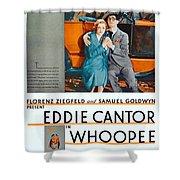 1930 - Whoopee - Movie Poster - Eddie Cantor - Florenz Ziegfield - Samuel Goldwyn - Color Shower Curtain