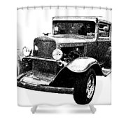 1930 Chevy Shower Curtain