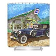 1930 Cord L Towncar Shower Curtain