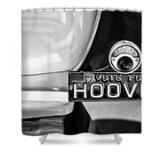 1930 Db Dodge Brothers Taillight Emblem -030bw Shower Curtain