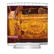 1930 Ford Delivery Shower Curtain