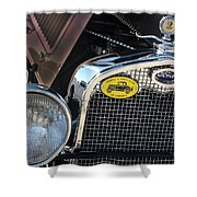 1930 Ford Model A - Front End - 7497 Shower Curtain