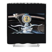 1930 Ford Model A - Hood Ornament - 7488 Shower Curtain