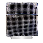 1930 Ford Model A Grille Shower Curtain