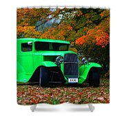 1930 Ford Sedan Delivery Truck  Shower Curtain