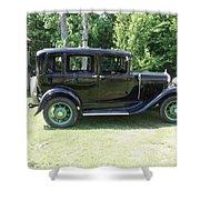 1930 Model-a Town Car 1 Shower Curtain