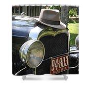 1930 Model-a Town Car 2 Shower Curtain