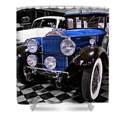 1930 Packard Limousine Shower Curtain