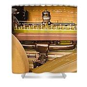 1930 Packard Speedster Runabout Engine -0539c Shower Curtain
