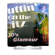 1930's Glamour Shower Curtain