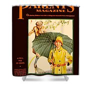 1931 - Parents Magazine - April - Color Shower Curtain