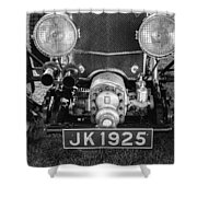 1931 Bentley 4.5 Liter Supercharged Le Mans Grille Shower Curtain