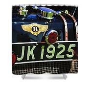 1931 Bentley 4.5 Liter Supercharged Le Mans Taillight Emblem Shower Curtain